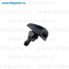 EDS-CT-003, NTY, Форсунка омывателя лобового стекла для Fiat Scudo, Citroen Jumpy 3, Peugeot Expert 3